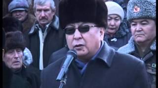 Похороны главы общества охотников Иссык-Кульской области Александра Барыкина.