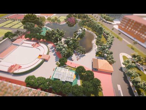 Así será el nuevo parque de Fofó de Murcia