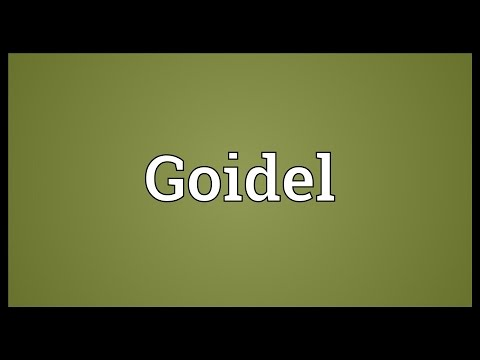 Goidel Meaning