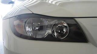 replacing headlight bulb 2006 bmw 325i