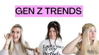 GEN Z TRENDS WITH THE ARNOLD SISTERS!! *FUNNY*