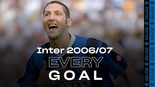 EVERY GOAL! | INTER 2006/07 | Materazzi, Crespo, Ibrahimovic, Adriano, Figo and many more... ⚽⚫🔵