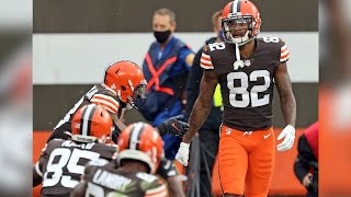 Cleveland browns wide receiver rashard higgins talks about being active for the game against colts and coming up big with a touchdown reception. monday,...