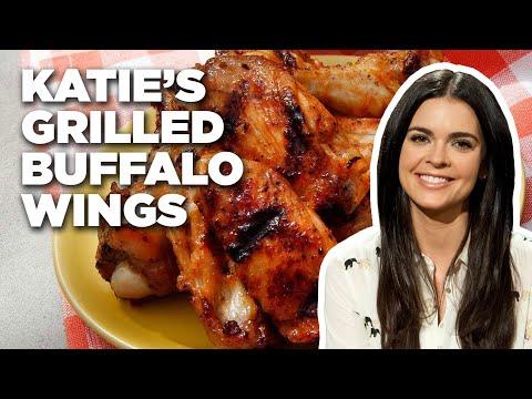 Katie Lee Makes Grilled Buffalo Wings | Food Network