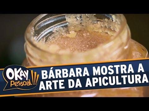 Okay Pessoal!!! (14/06/16) - Bárbara Koboldt mostra toda a arte da Apicultura