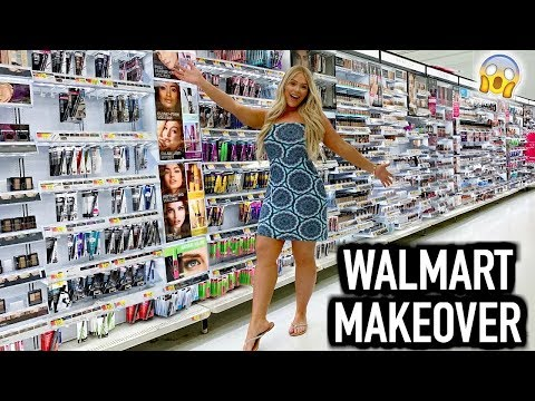 FULL FACE OF WALMART MAKEUP | BEST AFFORDABLE MAKEUP thumbnail