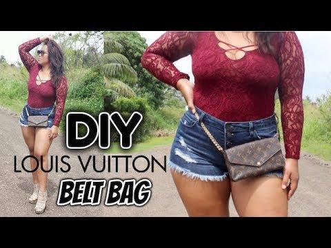 D.I.Y LOUIS VUITTON BELT BAG | FASHION ALERT 2018