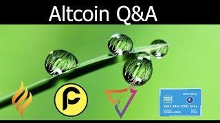 Social Media Q & A - Crypto Pay, Social Send, PacCoin, Ember Coin Update
