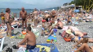 Лазаревское в июне 2015г(отдых на море., 2015-06-19T10:30:16.000Z)