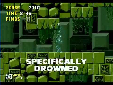 Sonic music with lyrics 2: Labyrinth Zone
