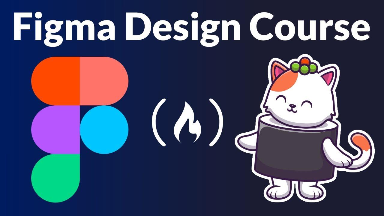 Figma Course - Web Design Tutorial for Beginners