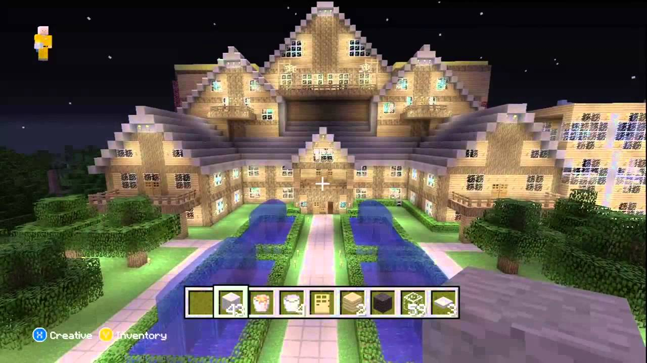 Minecraft Xbox 360 Awesome World Showcase Youtube