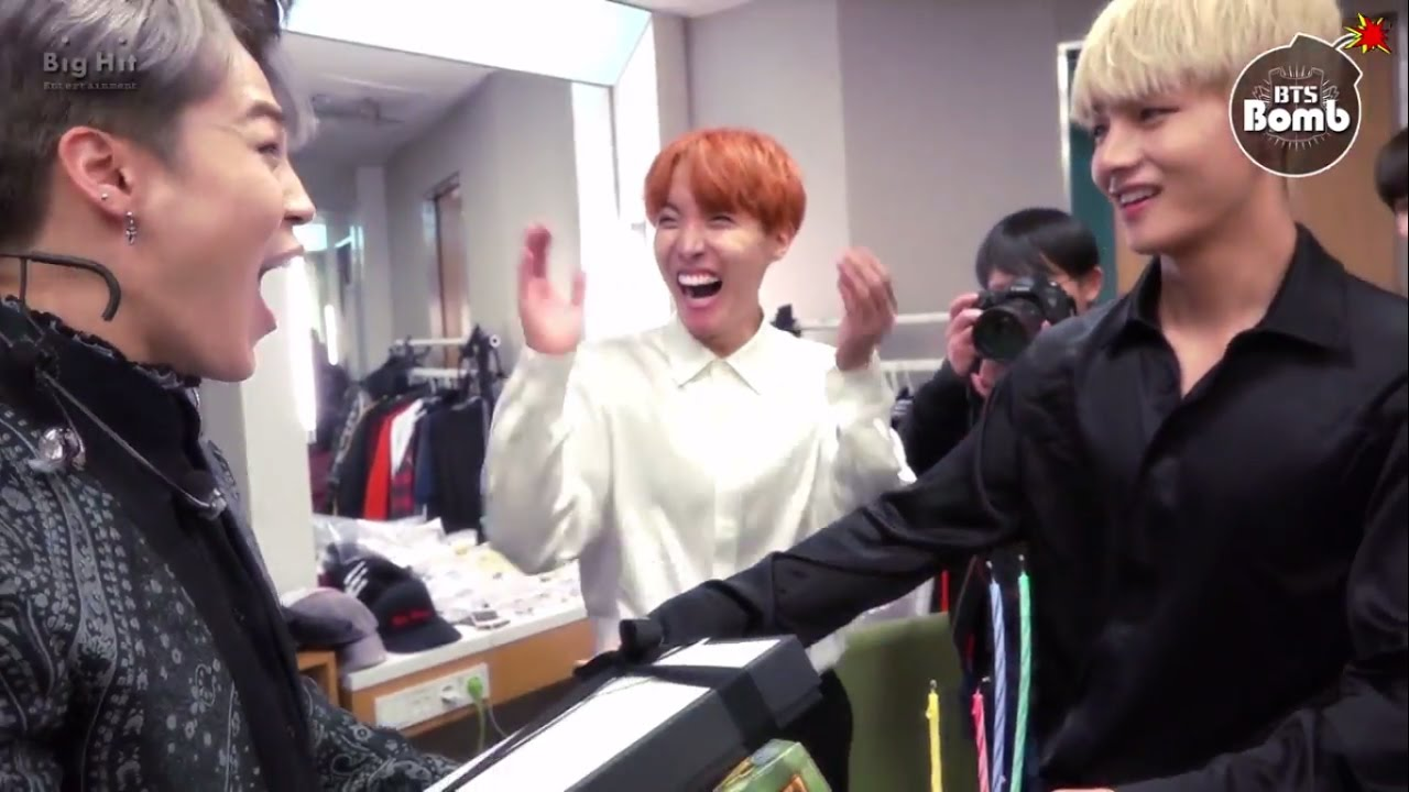 Eng Bts Surprise Birthday Party For Jimin 13101995 13102016 Youtube