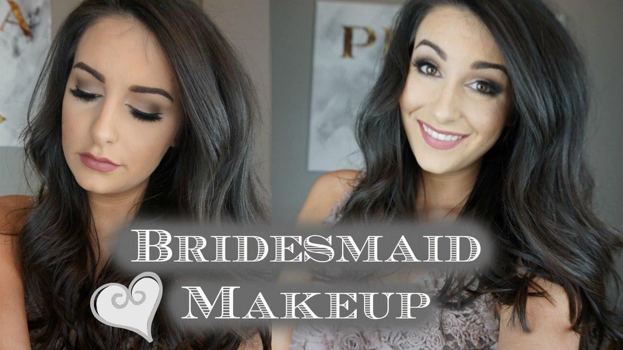 ff6d6a5ac6f Soft & Romantic | Bridesmaid Makeup Tutorial by Lauren Coffman