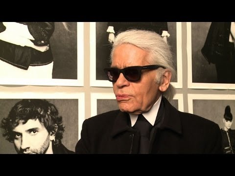 The 'little Black Jacket', Lagerfeld's Photo Show