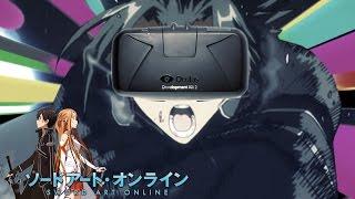Sword Art Online se convierte en REALIDAD con Oculus Rift! - Primer Gameplay