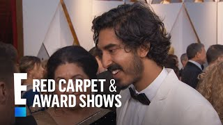 Dev Patel Cringe-Watches Himself on Screen at 2017 Oscars | E! Red Carpet & Award Shows