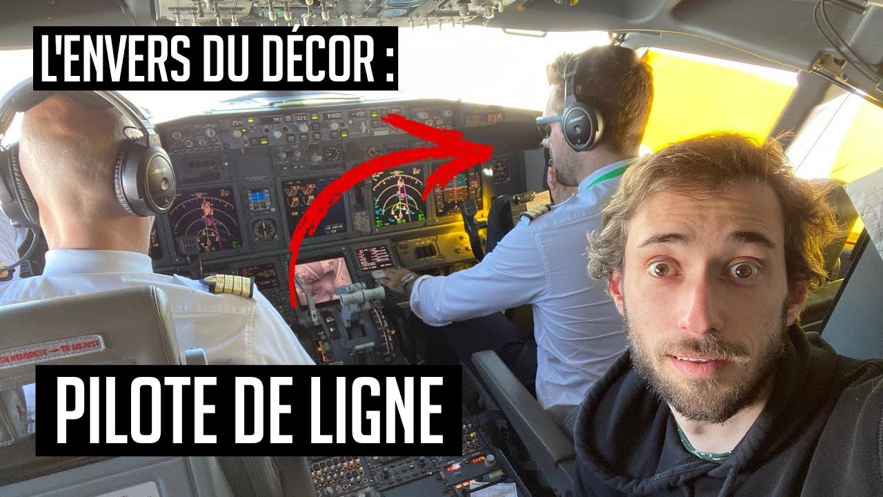UNE JOURNÉE AVEC #12 : PILOTE DE LIGNE