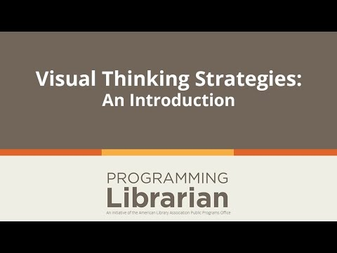 Visual Thinking Strategies:  An Introduction