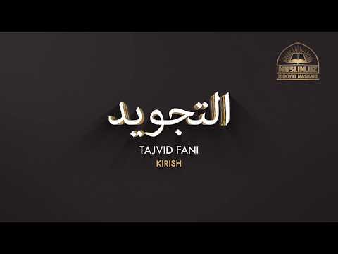 Tajvid fani - Kirish