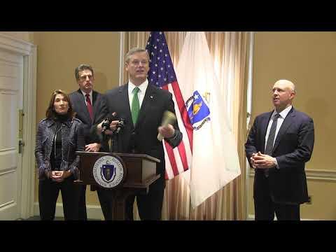 Baker on National Grid moratorium, lockout