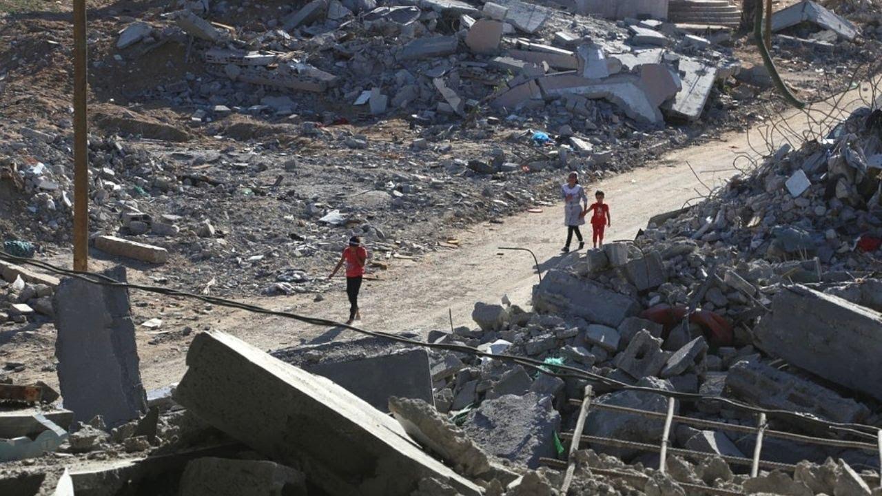 Война и ад в Израиле и Палестине. Горят школы, местные жители покидают свои дома