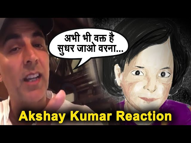 Akshay kumar ANGRY Response On Kathau ??? Case   ????? ?? ??? ????????   The Rumour Wire