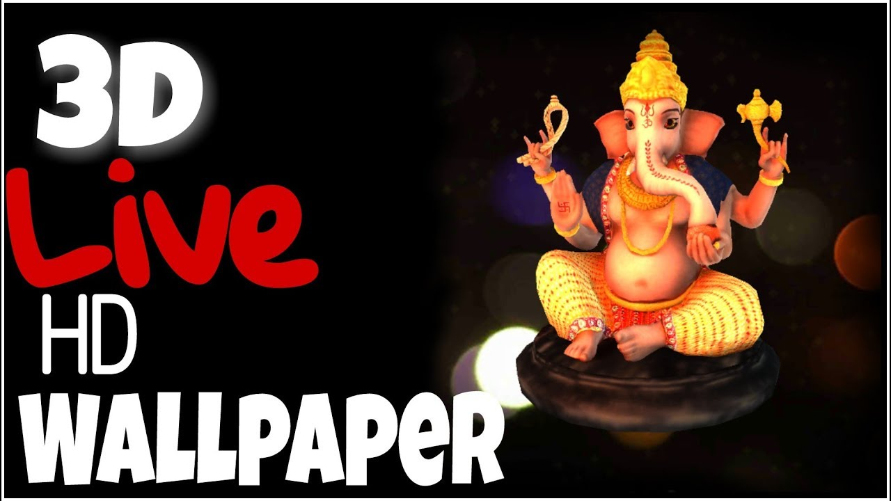 3d Ganesh Live Wallpaper Full Hd 3d Ganesh Chaturthi Festival Wallpaper Gunj Technical