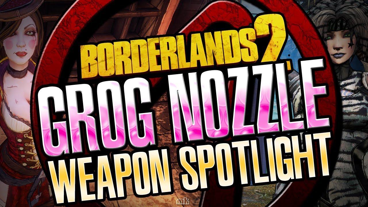 Borderlands 2 Miss Moxxi's Grog Nozzle Weapon Spotlight