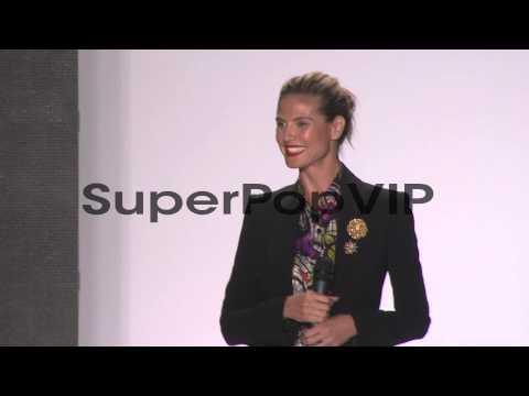 SPEECH - Heidi Klum introduces the newest season of Proje...