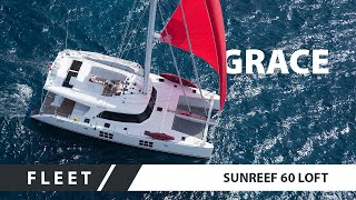 New Luxury Sailing Catamaran Concept - Sunreef 60 LOFT GRACE