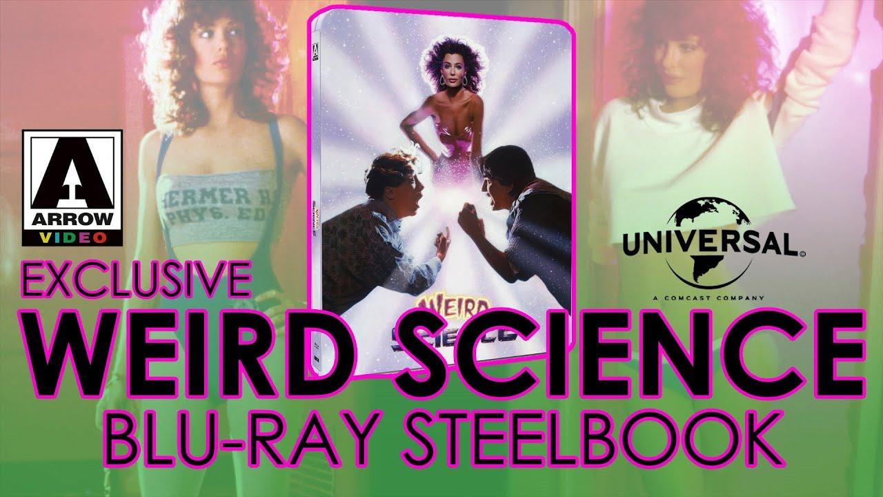 Download Weird Science (1985) Blu-ray Steelbook Unboxing   Arrow Video Exclusive (4K Video)
