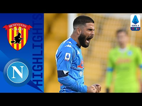 Benevento Napoli Goals And Highlights