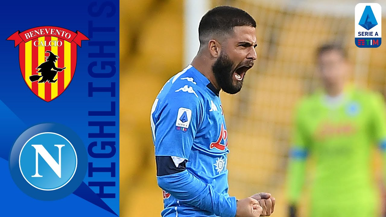 Benevento 1 2 Napoli Two Second Half Goals Cancels Out Benevento Opener Serie A Tim Youtube
