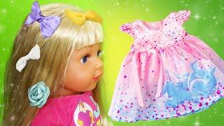 Беби Бон и Принцессы Диснея! Сборник видео куклы для девочек. Весёлые игры Одевалки и Парикмахерская