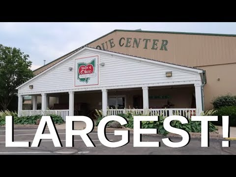Visiting America's LARGEST Antique Mall! - Heart Of Ohio