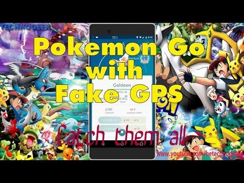 Play POKEMON GO hack with Fake GPS [No Root][Fully working]