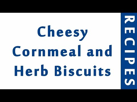 Cheesy Cornmeal And Herb Biscuits | MOST POPULAR BREAD RECIPES | RECIPES LIBRARY