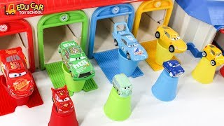 Learning Color Disney Pixar Cars Lightning McQueen Mack Truck cup Play for kids car toys