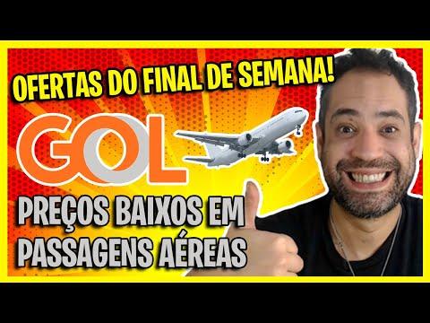 BOMBA! SÓ R$207 IDA E VOLTA! PASSAGENS AÉREAS GOL COM EXCELENTES PREÇOS NO FINAL DE SEMANA!
