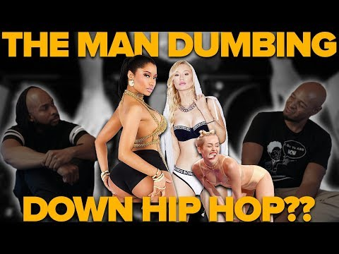 Is the 'Man' Dumbing Down Hip Hop?