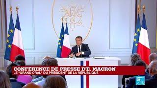REPLAY - Conférence de presse d'Emmanuel MACRON