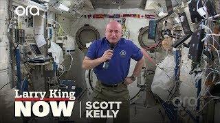Larry King Talks to Astronaut Scott Kelly in Space!