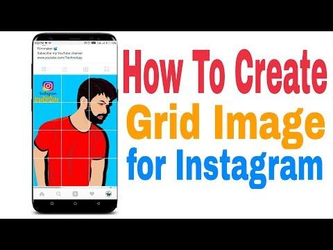 How To Create Grid Image For Instagram | Best Grid App For Instagram - Split Picture