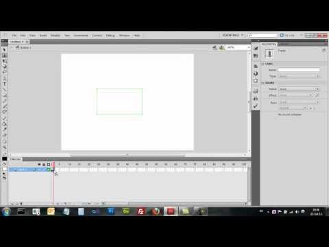 Adobe Flash CS5 - Frames שקופיות וצילמיות - אדובי פלאש