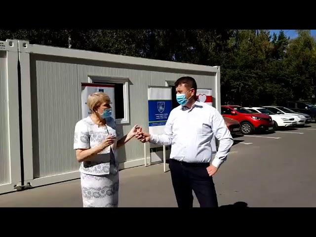 Szépvíz község jóvoltából kapott adományba lélegeztetőgépet a megyei kórház