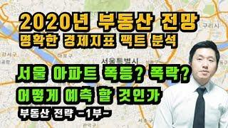 2020년부동산전망 명확한경제지표팩트분석 서울아파트폭등…