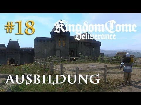 Let's Play Kingdom Come Deliverance #18: Ausbildung  (Tag 20 / Blind / deutsch)