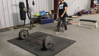Beating Afro Tank in double overhand 405 challenge