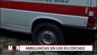 02/09/15  14:39 AMBULANCIAS SIN USO EN CERCADO